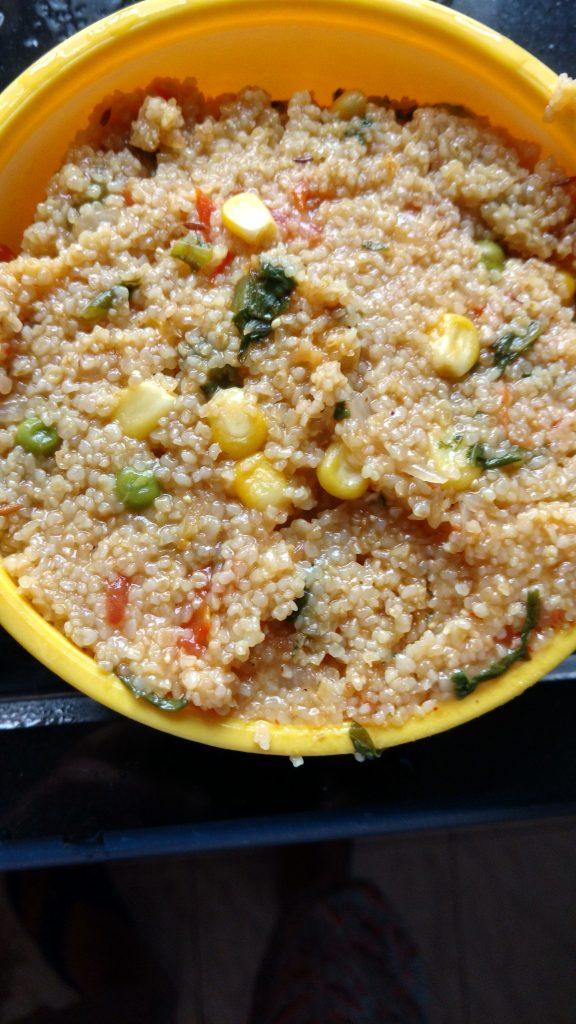 Dalia Khichdi/ Namkeen Dalia Recipe