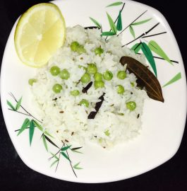 Matar Pulao - Delicious One Pot Meal
