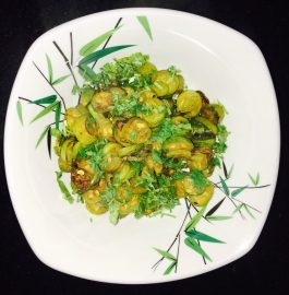 Tondlichi Bhaji - Yummy Dry Curry