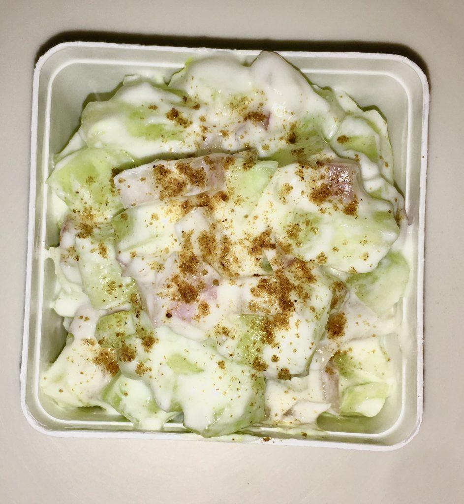 Cucumber Onion Raita Recipe