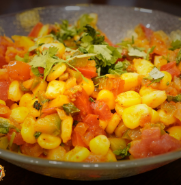 Corn Chaat - Spicy & Instant Snack Recipe