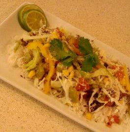 Burrito Bowl - Tasty Mexican Lunch