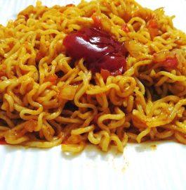 Noodles Masala - Tasty Street Food