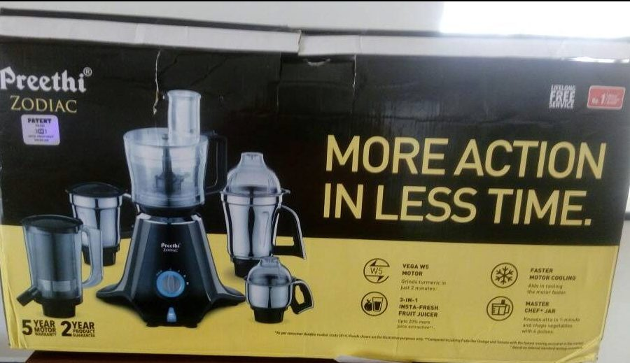 Preethi Zodiac - Mixer Grinder Review