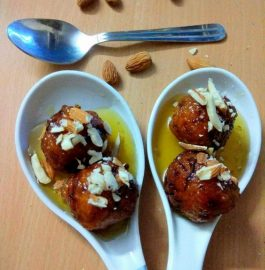 Pumpkin Gulabjamun - Delicious Bite