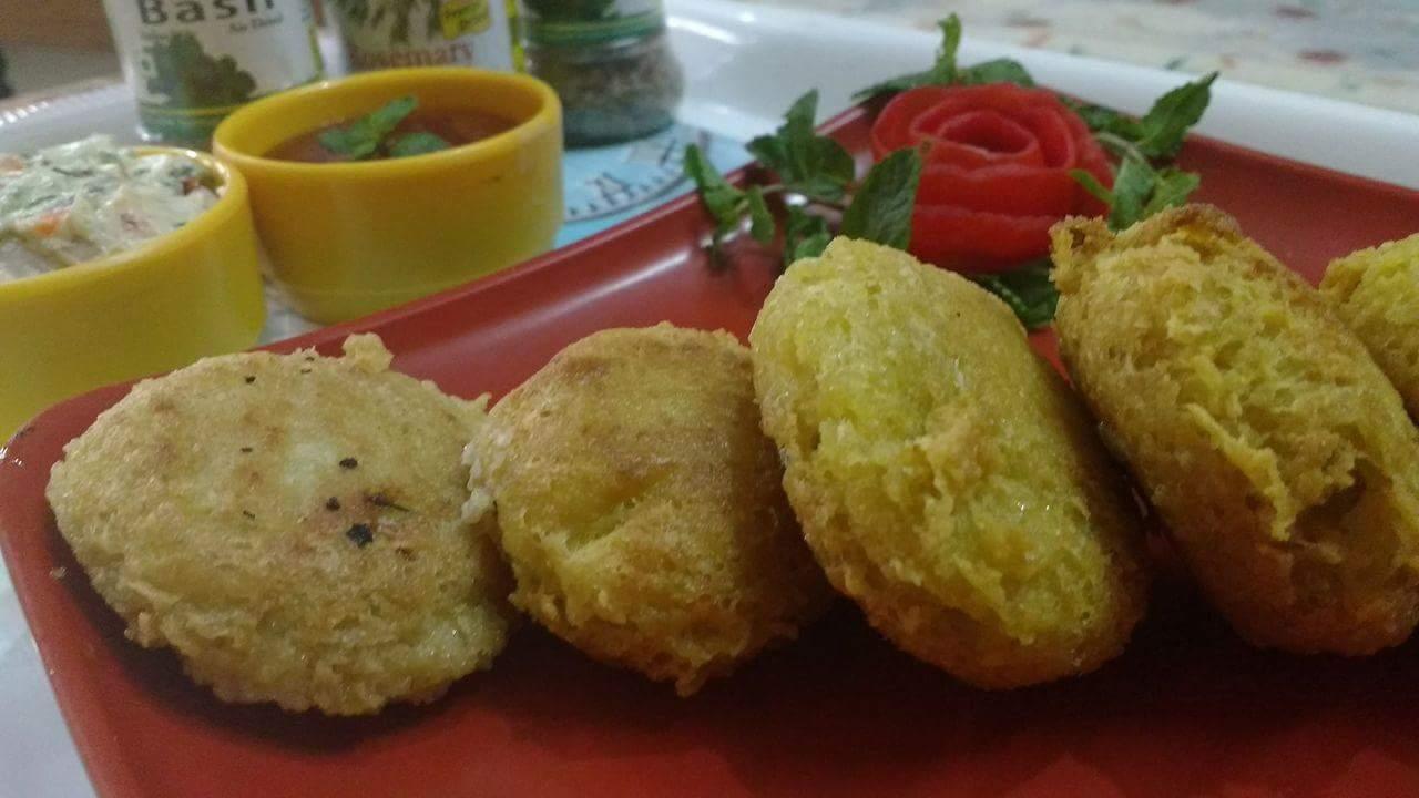 Stuffed Oats Hung Curd Kabab - Tasty Bite