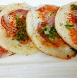 Mini Rice Uttapam Recipe