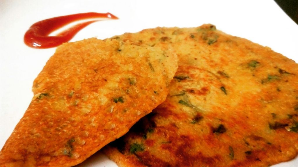 Moong Dal Pancakes Recipe