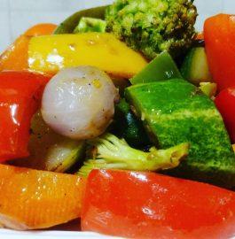 Baked Vegetable Salad Recipe