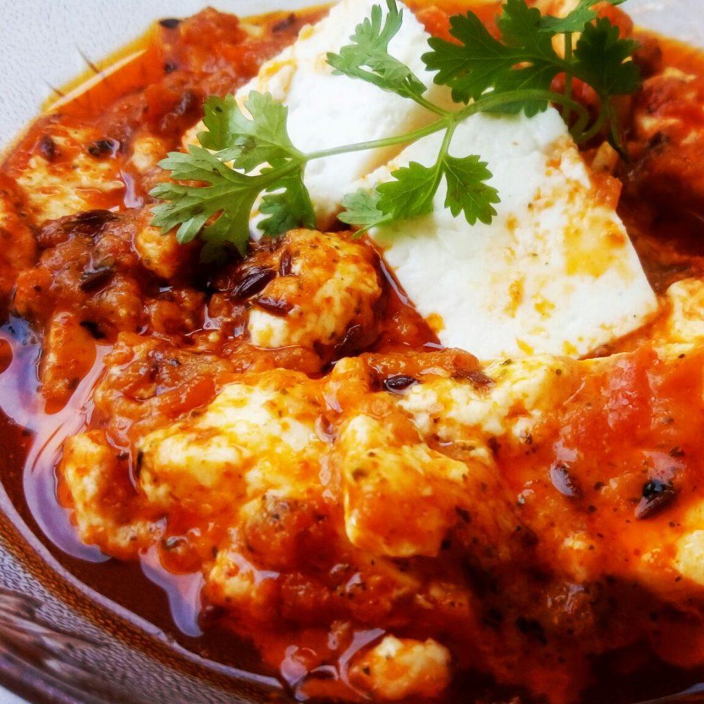 Achaari Paneer Curry Recipe