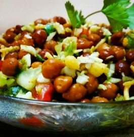 Kala Chana With Veggies Recipe