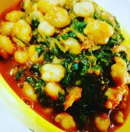 Palak Chole Curry Recipe