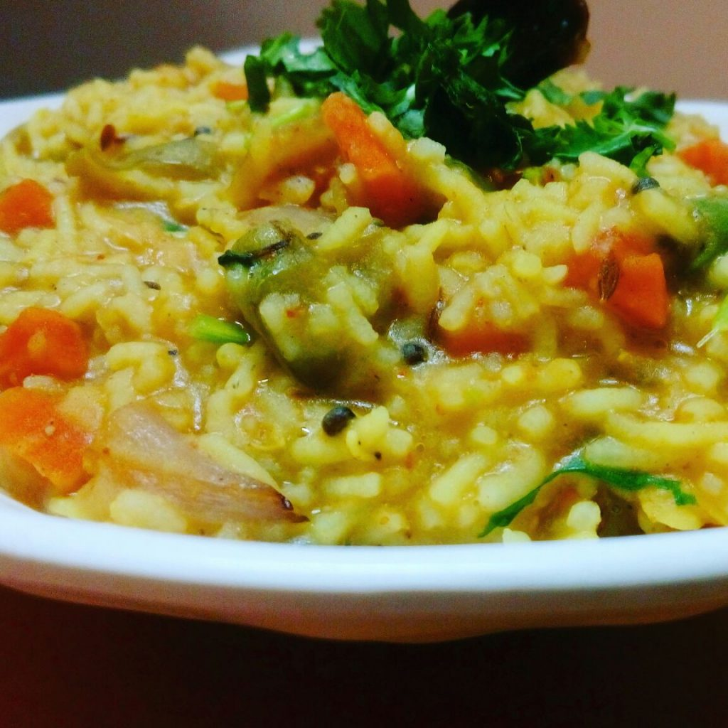 Khichdee With Dal Bhaat Recipe