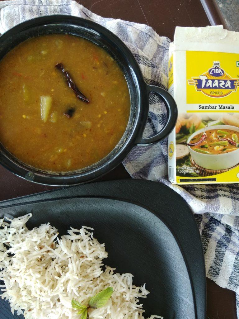 Vegetable Sambhar Recipe