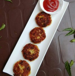 Leftover Rice Cutlets Snack Recipe