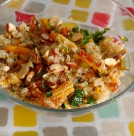 Quinoa Salad With Stir Fried Veggies Recipe
