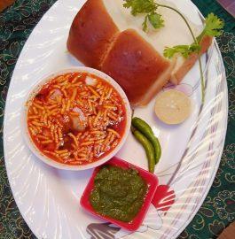 Maharashtrian Usal Pav Recipe