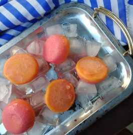 Mango Rose Frozen Yogurt Recipe