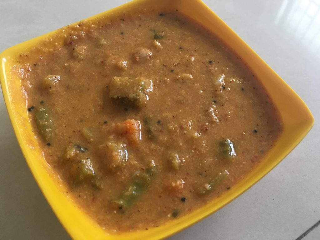 South Special Vegetable Kootu/Sambar Recipe