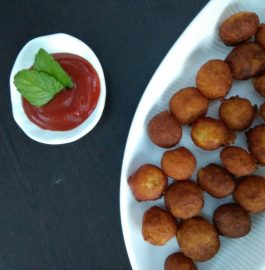 Potato Poppers Snack