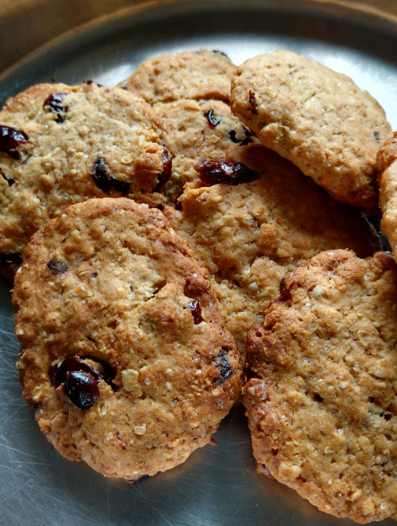 Oatmeal & Cranberry Cookies
