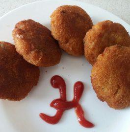Aloo Poha Tikki Recipe