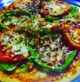 Veggie Pizza With Cheese Recipe