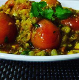 Stuffed Tomatoes With Sweet Corns Recipe