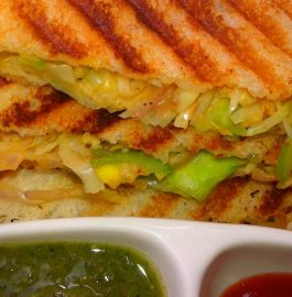Cabbage Grilled Sandwich Recipe