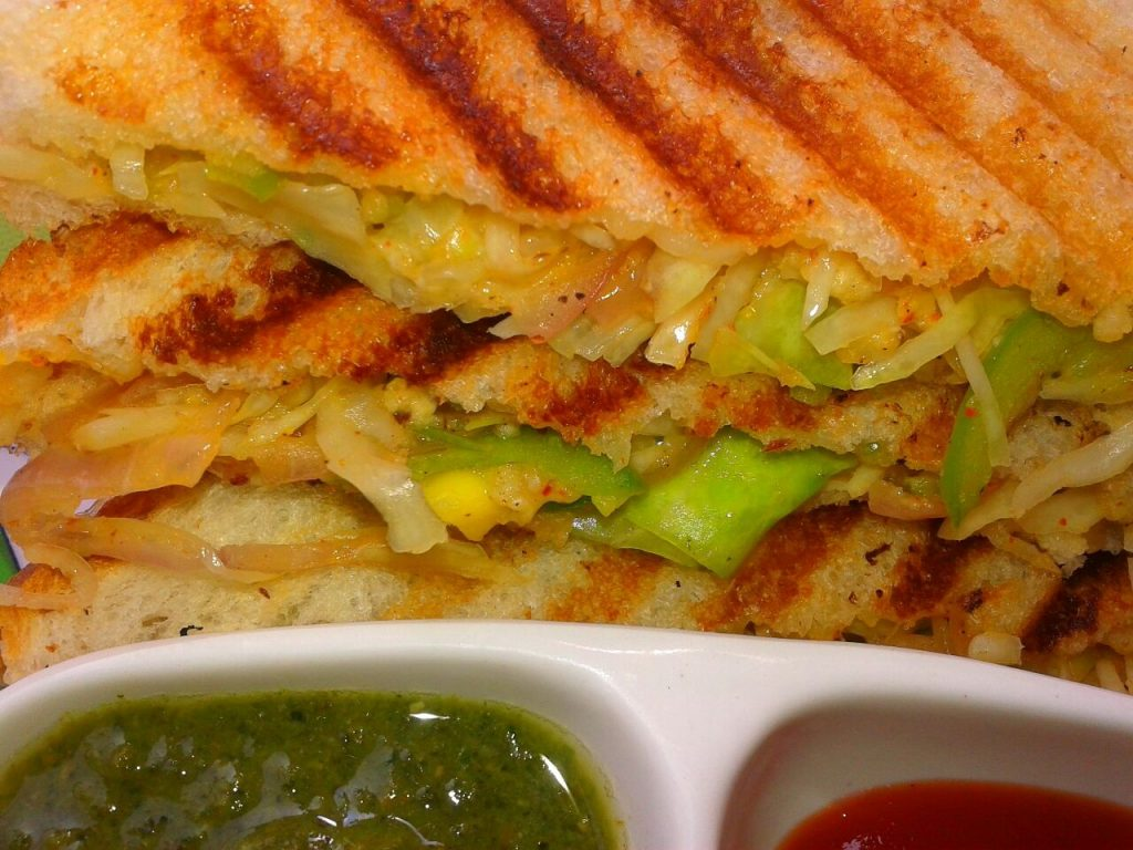 Cabbage Grilled Sandwich Recipe