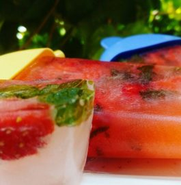 Mixed Fruits Popsicle Recipe