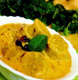 Mint Gatta Curry Recipe