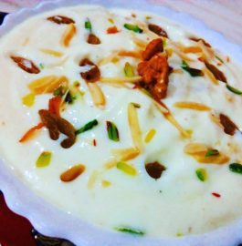 Curd With Dry Nuts Recipe