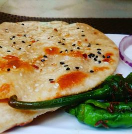 Crispy Tandoori Naan Recipe