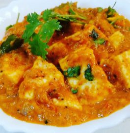 Paneer Butter Masala Curry Recipe