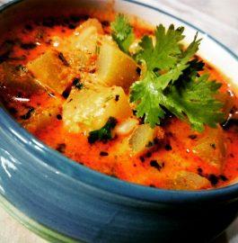 Dahi Lauki Curry Recipe