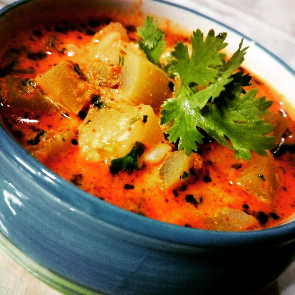 Dahi Lauki Curry Recipe