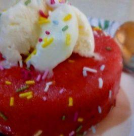Watermelon Frozen Cake Recipe