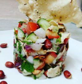 Papad Salad Recipe