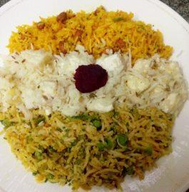 Veg Fried Rice ( Tricolor) Recipe