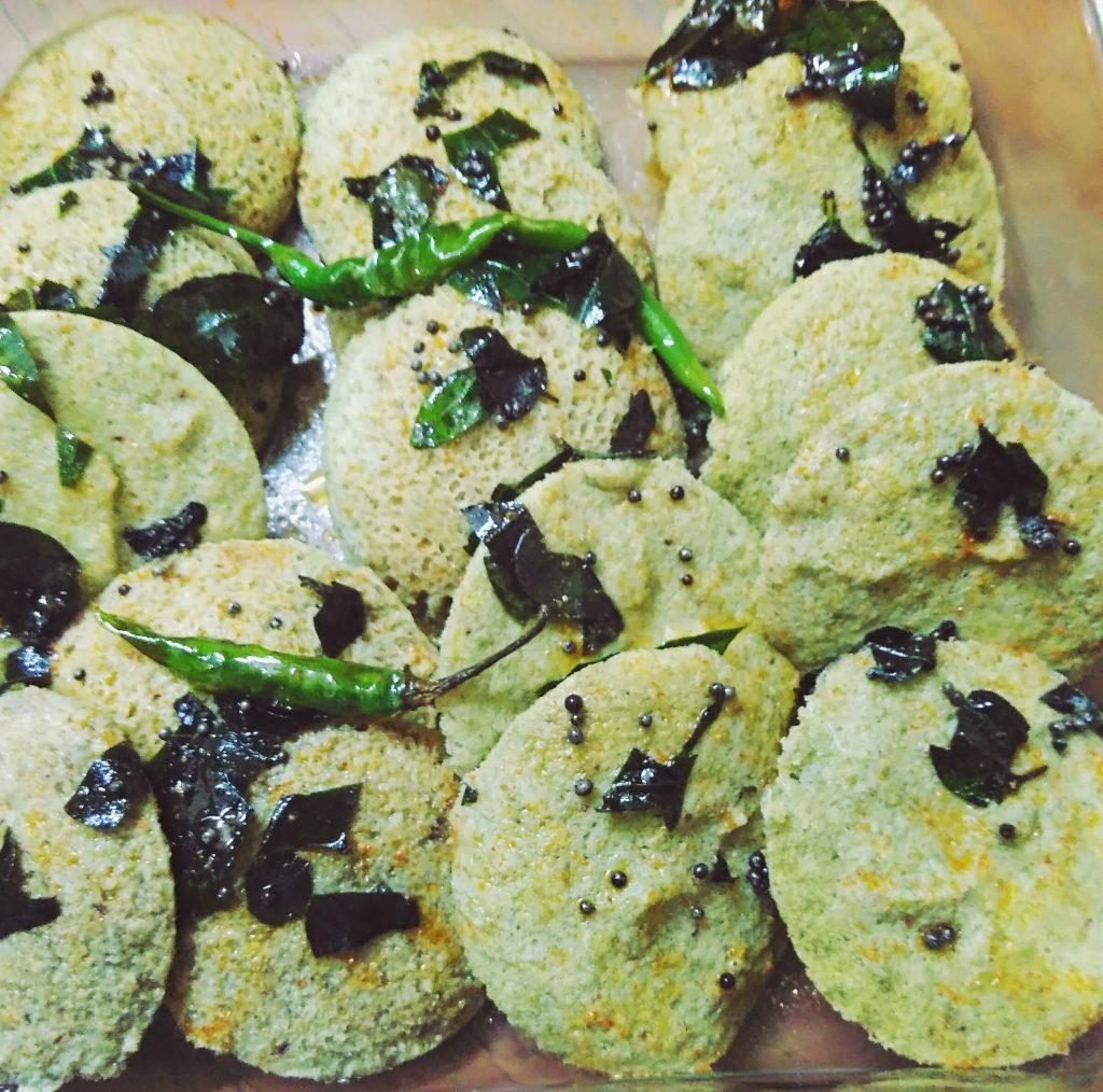 Green Moong Dal Idli Recipe