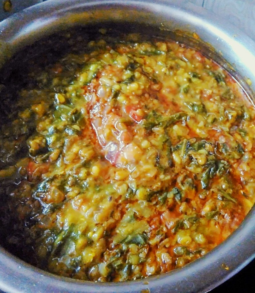 Chana Dal Palak Curry Recipe