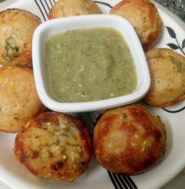 Wheat Dalia Sooji Appam Recipe