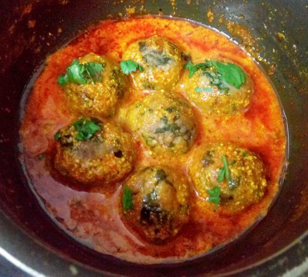 Palak Paneer Kofta Curry Recipe