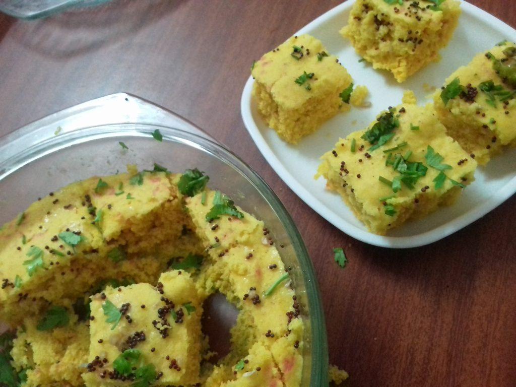 Instant Besan Dhokla Recipe