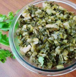 Stir Fry Leafy Radish Recipe