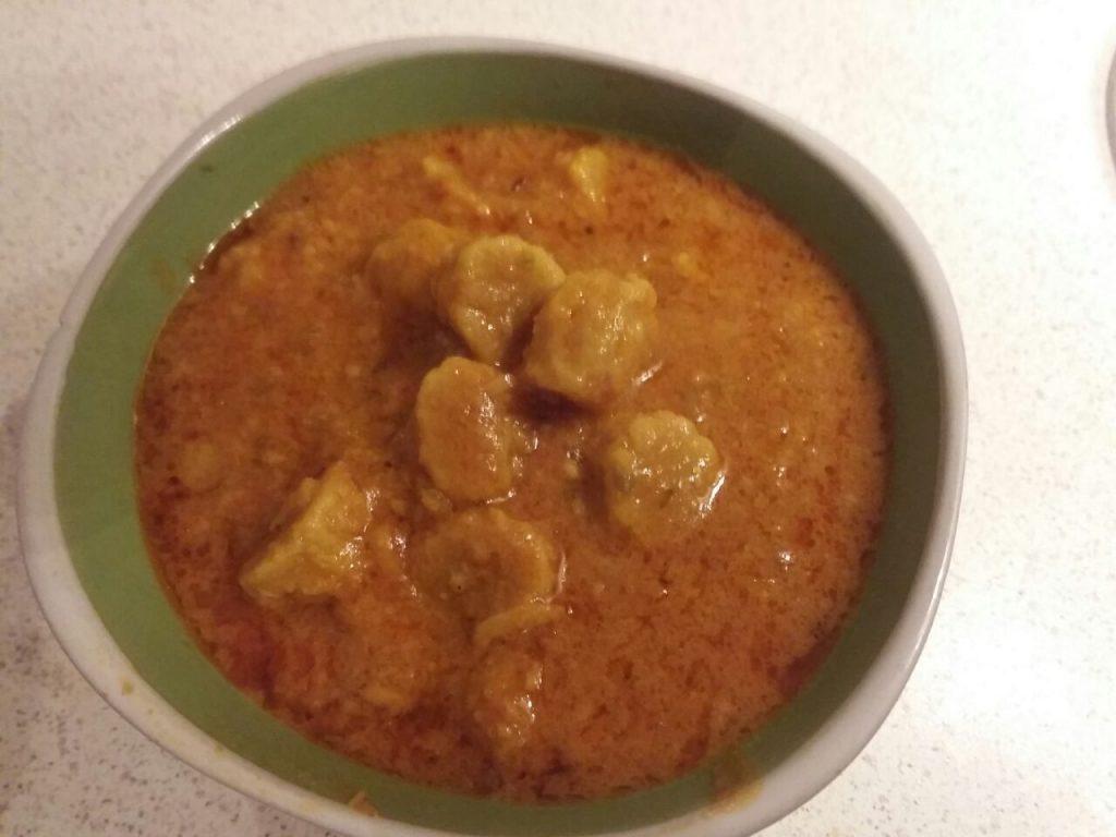 Zucchini Gatte Curry Recipe