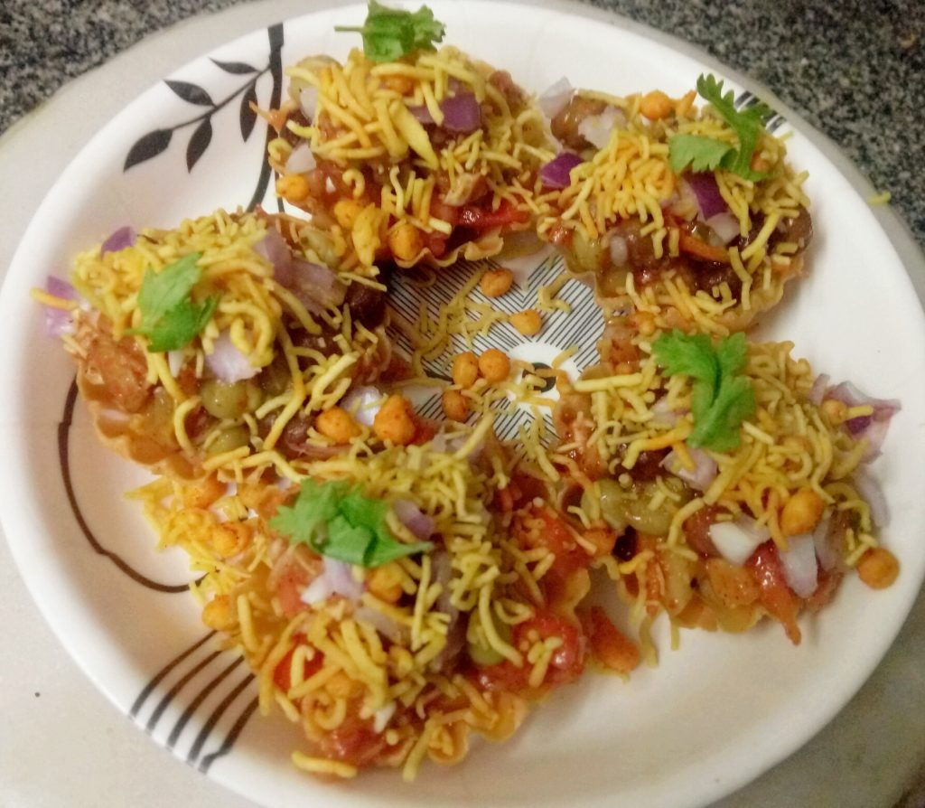 Jhatpat Canopy (Katori) Chaat Recipe