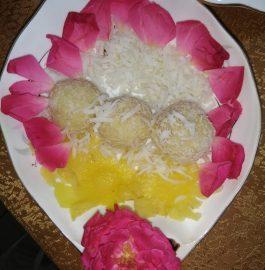 Pina Colada Ladoo Recipe