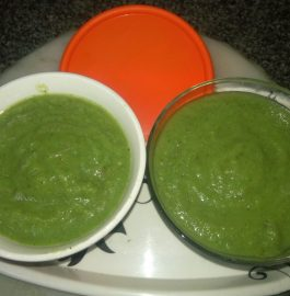 Green Apple - Kiwi - Chillies Minty Chutney Recipe
